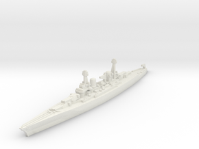 Lexington class battlecruiser (1930s) 1/2400 in White Natural Versatile Plastic