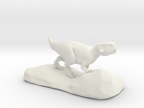 Psittacosaurus sculpture in White Natural Versatile Plastic