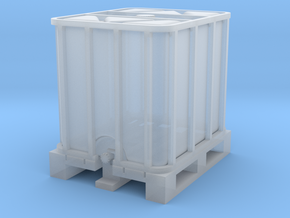 TJ-H02010 - Conteneur 1000l in Smooth Fine Detail Plastic