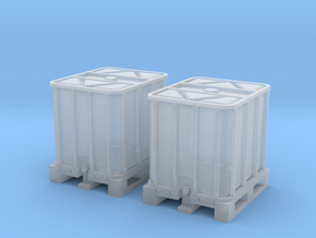 TJ-H02010x2 - Conteneurs 1000l in Smooth Fine Detail Plastic