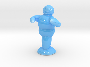 Fat Guy Dancing 5'' in Gloss Blue Porcelain
