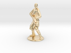 Jaffa Attack Pose - 20mm in 14k Gold Plated Brass