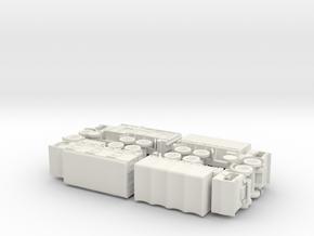British Leyland Retriever Variants 1/144  in White Natural Versatile Plastic