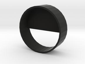 28mm Speaker Holder in Black Natural Versatile Plastic