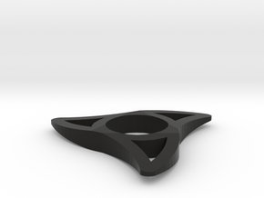 TriSpinner in Black Natural Versatile Plastic
