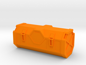 Crate (Star Wars Rogue One) in Orange Processed Versatile Plastic: 1:32