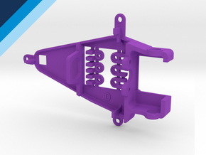 Small Can 0.0mm Offset IL - NSR compatible pod in Purple Processed Versatile Plastic
