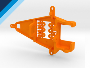 Small Can 0.8mm Offset IL - NSR compatible pod in Orange Processed Versatile Plastic