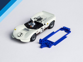 1/32 MRRC Chaparral 2C Chassis for Slot.it pod in Blue Processed Versatile Plastic