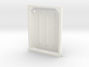1.6 Marche Pied Big (B/1) MD900 in White Processed Versatile Plastic
