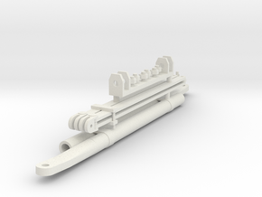 1/16 M31 Crane Parts in White Strong & Flexible