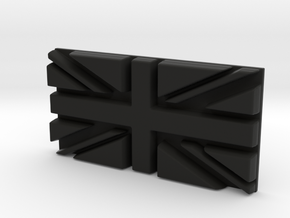British flag in Black Strong & Flexible