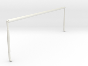 1/87 Rolled Canopy in White Natural Versatile Plastic