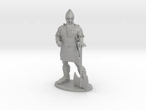 Dwarf Fighter Miniature in Aluminum: 1:55