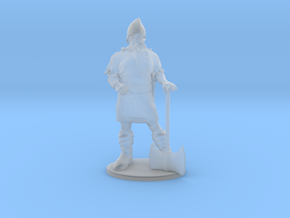 Dwarf Fighter Miniature in Smoothest Fine Detail Plastic: 1:60.96