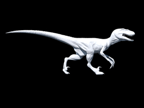 Jurassic Park Raptor v3 1/35 scale in Smooth Fine Detail Plastic