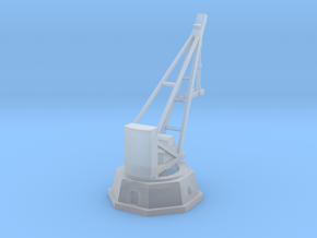 Armstrong Hydraulic Crane, Octogonal Base in Smooth Fine Detail Plastic