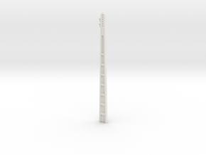 1:50 Electric cement post in White Natural Versatile Plastic