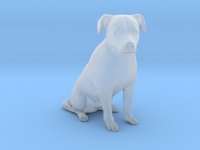 Ultra Tiny dog statue - Vito in Smooth Fine Detail Plastic