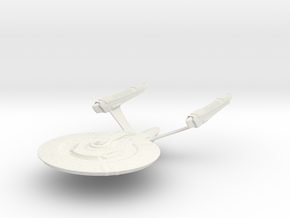 Dedication Class Refit BattleCruiser in White Strong & Flexible