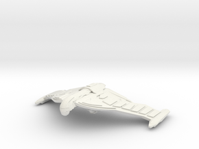 Romulan  WingVengance Refit Class Cruiser in White Strong & Flexible