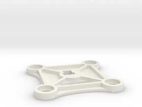Interior Plate in White Natural Versatile Plastic