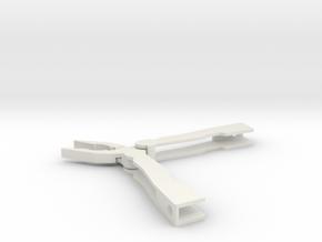 Folding pocket pliers in White Strong & Flexible