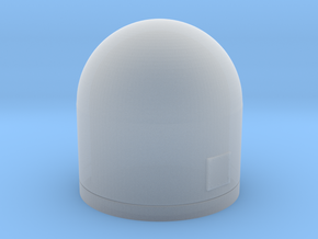 1:200 Scale WSC-6 SatCom Dome in Frosted Ultra Detail