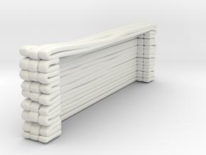 1/87 FDNY SAT Hose Load 3 in White Natural Versatile Plastic