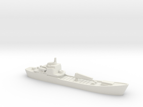 Alligator-class landing ship, 1/2400 in White Natural Versatile Plastic