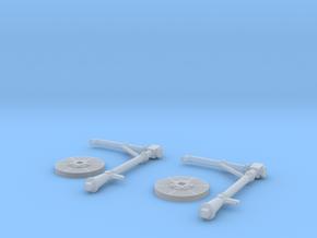 TJ-Z4506x2 - Grues à eau PO type A in Smoothest Fine Detail Plastic