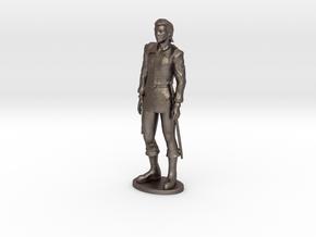 Half-Elf Miniature in Polished Bronzed Silver Steel: 1:55
