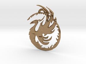 Phoenix 1 in Natural Brass