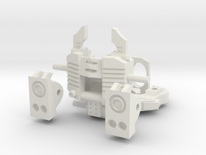 """Another Dimensional bots """"KWAGGA"""" (All parts are i in White Natural Versatile Plastic"""