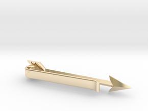 Arrow Tie Bar in 14K Yellow Gold