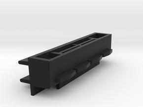 Battery-Port Assembly HP41C in Black Natural Versatile Plastic