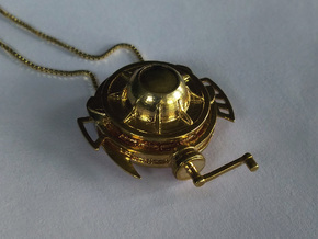Mekansm Pendant (Dota 2) in Natural Brass