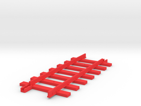 Triang Big Big Train Track 7 Sleepers in Red Strong & Flexible Polished