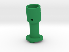 Shaft Suncom 13° angle and 15° offset in Green Processed Versatile Plastic