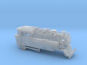Schmalspurdampflok BR 996001 Spur Nm (1:160) in Smooth Fine Detail Plastic