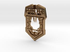 Black Ops II logo in Natural Brass