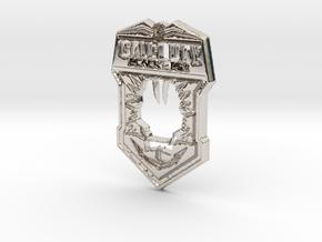 Black Ops II logo in Platinum