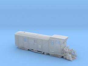 HSB Schneeschleuder LSF 071 Spur Nm (1:160) in Smooth Fine Detail Plastic