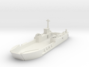 1/285 Scale LCT6 in White Natural Versatile Plastic