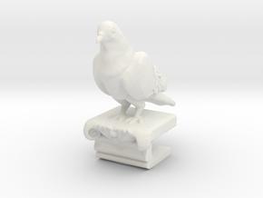 Pigeon Clip in White Natural Versatile Plastic