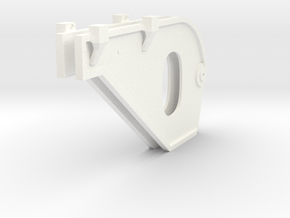1.8 SUPPORTS TUYERES EC725 X2 in White Processed Versatile Plastic