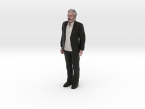 Ebrahim Hamedi (EBI) 3D Model ready for 3d print in Full Color Sandstone