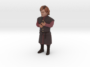 Peter Dinklage 3D Model ready for 3d print in Full Color Sandstone