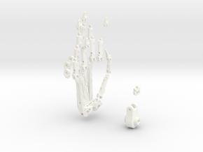 Animatronik Hand rechts in White Processed Versatile Plastic