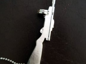 Suomi KP/-31 in Fine Detail Polished Silver